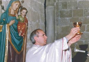 Don Pino Puglisi, assassinato nel 1993.