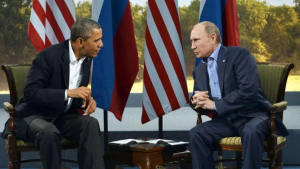 Obama e Putin a colloquio.