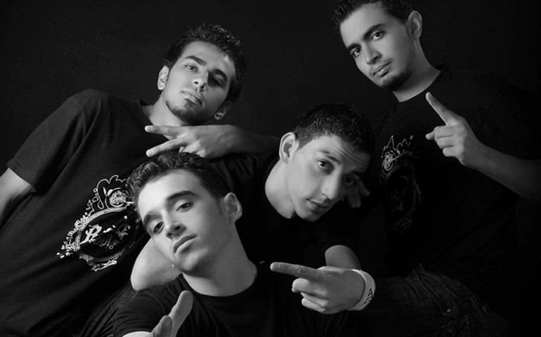 Refugees of Rap in Siria.