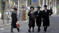 Giovani ebrei ultraortodossi a Gerusalemme (Israele).