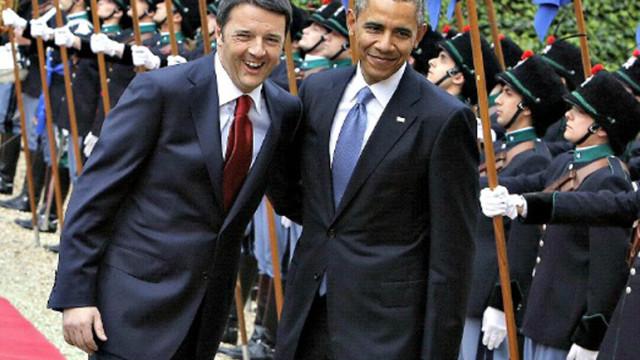 Obama-Ue e Renzi
